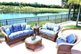 blue and white patio furniture outdoor chair cushions splendid design inspiration plain set metal whi