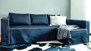 black couch slipcovers. Delighful Black IKEA Manstad Sofa Covers Gaia Black Panama Cotton Couch Slipcover With Slipcovers O