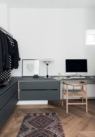 comfortable home office graphic design station. modern home office design and comfortable graphic station k