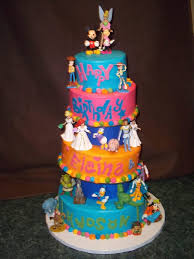 Disney Themed Cake Best Disney Birthday Cakes Photos The Best Cake