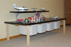 Ikea Toy Organizer Furniture Smart Ikea Toy Storage With Toy Plane And Toy Car With