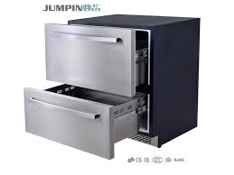 mini bar fridge with 120l electronic drawer stainless steel built in plan 12