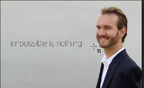 nick vujicic my hero did you meet an optimistic person or are you an optimistic person yourself would you be optimistic if you lived out hands legs and only had two toes