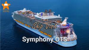 Royal Caribbean Cruise Ship Size Chart Ship Visit Symphony Of The Seas Tour 2018 4k Royal Caribbean New Flagship