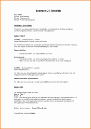 What To Write In Profile On Resume 12 Personal Profile Resume Samples Proposal Letter