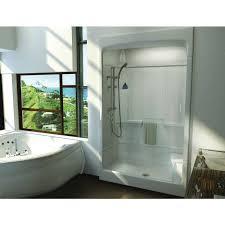shower unit maax 51 x 35 x 85 tempo 3 piece acrylic