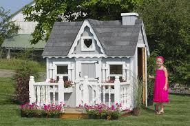 charming wooden outdoor playhouses home design garden architecture blog