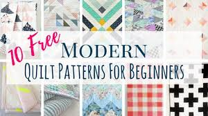 Contemporary Quilt Patterns Custom 48 Free Modern Quilt Patterns For Beginners Making Things Is Awesome