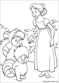 Small Picture coloriage peter pan Coloring pages Pinterest Peter pans