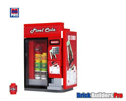 Lego Vending Machine Kit Extraordinary LEGO City Soda Vending Machine Medium EBricks Building At Your