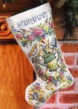 Cross Stitch Stocking Patterns Custom Counted Cross Stitch Christmas Stocking Guide Step By Step