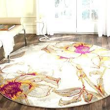 7 ft round rugs