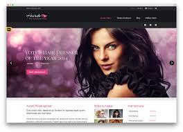 Hair Saloon Websites Beautifully Designed Salon Websites 34 Beautiful Spa Beauty Salon