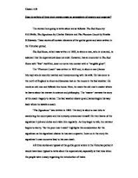 short stories comparison essay gcse english marked by page 1