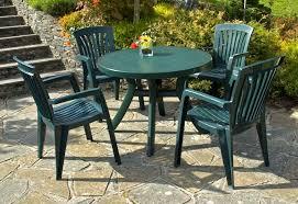 Plastic Patio Table Sets