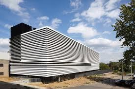 Small Industrial Building Design Technology Building Leuven Facade Architecture Building
