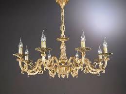 pillar candle chandelier diy