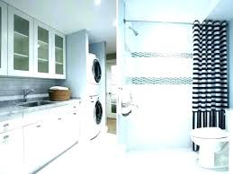 Basement Designs Plans Enchanting Bathroom Laundry Combo Lovely Inside Plan Ideas Room Plans