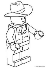 Lego Cowboy Coloring Pages Printable Cowboy Coloring Pages For Kids