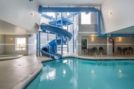 indoor pool with waterslide. Indoor Pool With Waterslide