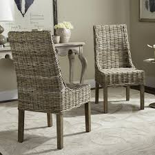 Safavieh Rural Woven Dining Suncoast Unfinished Natural Wicker Arm Chairs  (Set of 2) - Free Shipping Today - Overstock.com - 15052195