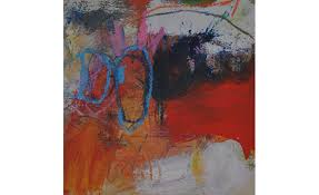 james robert moore small abstract painting 2