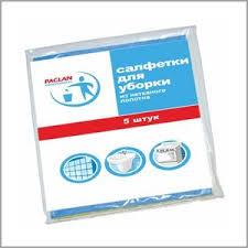 Купить <b>салфетки для уборки 5</b> шт / 38х30 см paclan рrofessional ...