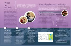 Music Brochure Music Together Brochure Velocity Music Academy 2