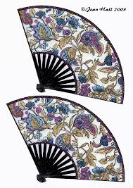 indian hand fan clipart. three differen pairs of flat chinese fans indian hand fan clipart
