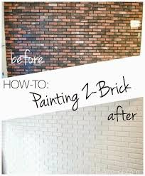 how to paint an interior brick wall pbjstories com
