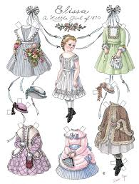 Small Picture 14 best Paper Dolls images on Pinterest Vintage paper dolls