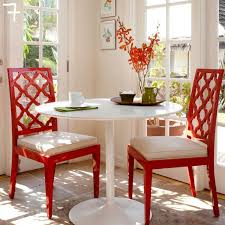 diy lacquer furniture. Red Lacquer Dining Chairs-7 Diy Furniture