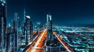 buildings, cityscape, night, 4k, uhd ...