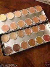 kryolan dermacolor 24 color palette makeup 71008 show
