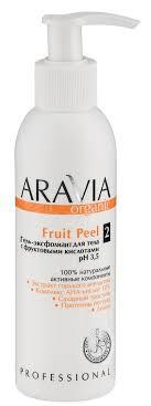 ARAVIA <b>Гель</b>-эксфолиант с фруктовыми кислотами для <b>тела</b> ...