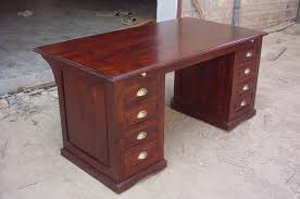 wooden office tables. SHEESHAM WOOD OFFICE TABLE Wooden Office Tables