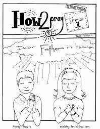 Prayering Pages Serenity Jesus Praying Page Printable For
