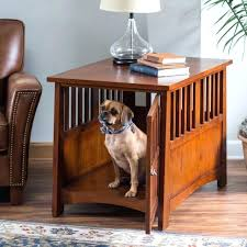 pet crate furniture. Indoor Dog Crate Furniture House End Table Pet Kennel Cage Wooden Wood . R