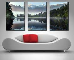 lake serenity 3 panels split canvas print photo taken of a gorgeous mountain lake with on 3 piece wall art mountains with swimming pool underwater triptych pinterest panel wall art