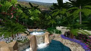 Virtual Backyard Design Adorable Design Garden Virtual Presentation Studio Tropical Paradise In