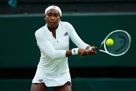 U.S. tennis player Coco Gauff out of ...