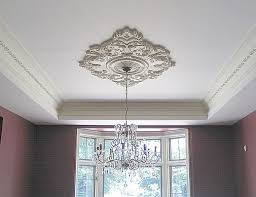 celing medallions installation tips