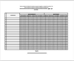 formato de asistencias formato de lista de asistencias secuendaria