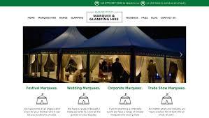 Marquee Website Design Web Design For Berkshire Marquee Hire Web Design Reading
