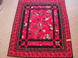 Prairie Windows Poppy Quilt | Uniquely Yours Quilt Shop & Prairie Windows Poppy Quilt. Adamdwight.com