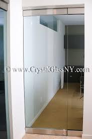 herculite glass door with sidelight