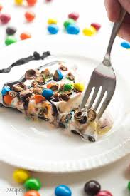 this frozen ice cream dessert pizza is the no bake summer dessert you need a