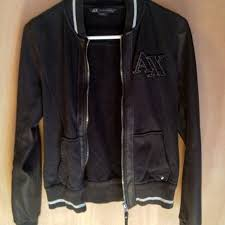 armani exchange varsity jacket
