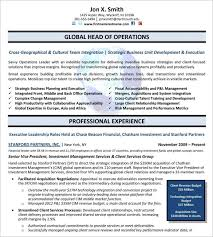 Executive Format Resume Template - April.onthemarch.co
