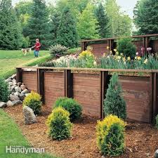 Small Picture 47 best Building a retaining wall and landscaping a hill images on
